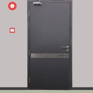 2 HOUR FIRE RATED DOOR | Suitable for Electrical Riser, Corridor, High Risk Area and more.