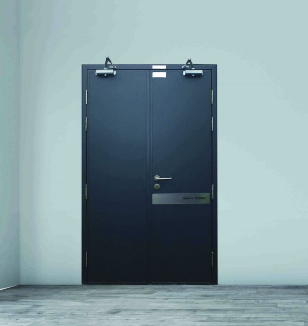 Fire Door, TwoHour, Double Leaf, Paint Finishes