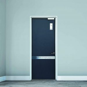 Fire Door, One Hour, Single Leaf, Paint Finishes