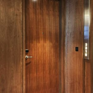 Veneer, Fire Door, One Hour, Single Leaf, Hotel