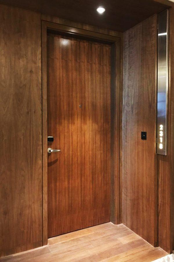 Veneer, Fire Door, One Hour, Single Leaf, Hotel