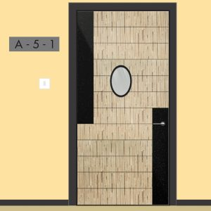 ID HPL FIRE RATED DOOR | Suitable for Condominium, Apartment, Hotel, Office, Corridor, Ballroom, Banquet Hall, Hospital, Mall and more.