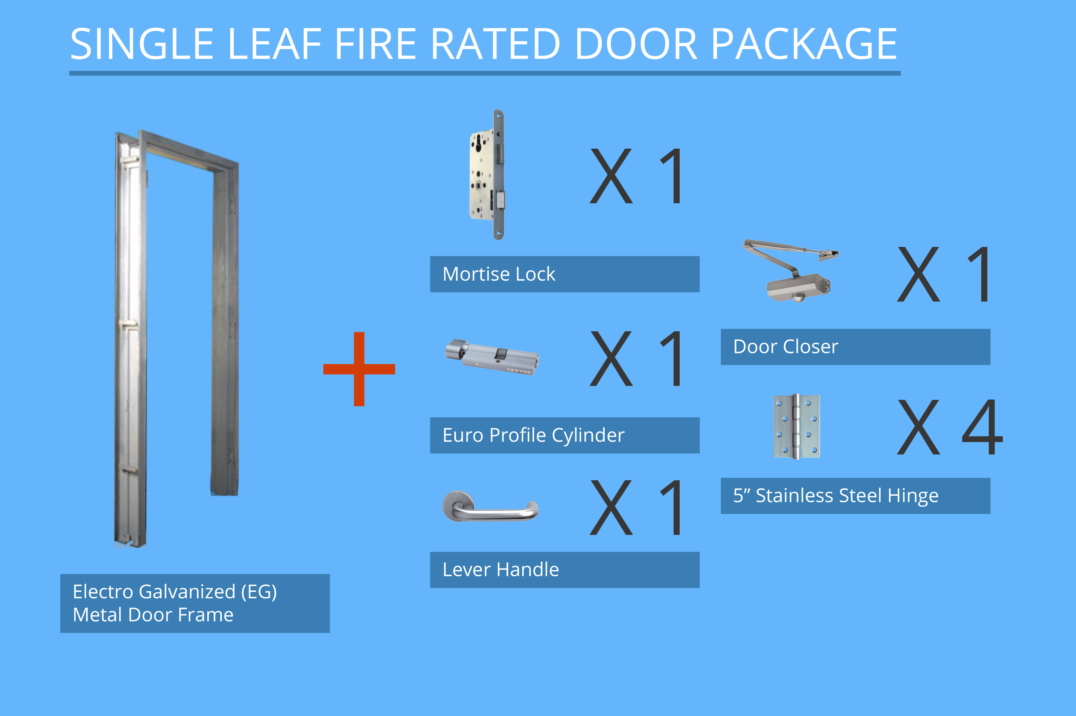 1 Hour Fire Rated Door In Selangor - Molicc